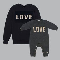 """** Mothers Day Gift Set"""" Matching playsuit and sweater gift set. British designed unisex baby and kids fashion clothing brand for stylish little ones. The bonnie mob ship worldwide from the UK."""