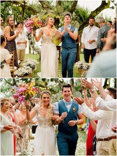 Casamento em Toque Toque Pequeno, Casa 28   Carol + George Bridesmaid Dresses, Wedding Dresses, Toque, Fashion, Wedding On The Beach, Amazing Photos, Wedding Shot, Weddings, Moda