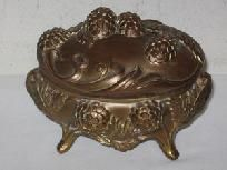 OUTSTANDING ANTIQUE JEWELRY CASKET GREAT PRICE