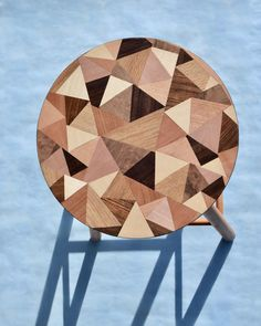 Along the years, I have found three completely alike stools while pacing streets of Budapest. This is the first one to have a new hand-cut marquetry top, made of ash, oak, blacknut, mahogany, european maple, beech, cherry, pear, FSC® certified coloured veneers, and the original upcycled beech legs.  Craftsmen: Anna Lébényi - product idea, design, material procurement, marquetry . . . . . . . . . #carbonneutralshipping#biodegradablepackaging#vuuvworks#ethica#upcycledfurniture#woodveneers#marque Marquetry, Budapest, Stools, Craftsman, Ash, Pear, Upcycle, Cherry, The Originals