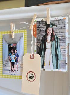 Family Memory Banner- a Thanksgiving Craft Idea, the Polka Dot Chair