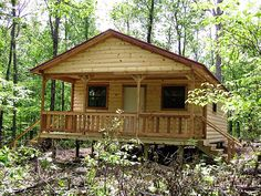 TUFF SHED cabin in the woods