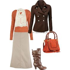 Love this outfit, I ould choose a knee length skirt though with the boots