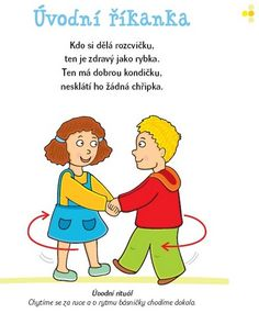 básničky pro děti romana suchá - Hledat Googlem Health Activities, Infant Activities, Activities For Kids, Yoga For Kids, Occupational Therapy, Healthy Kids, Kids And Parenting, Montessori, Winnie The Pooh