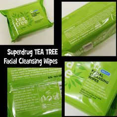 MichelaIsMyName: Superdrug TEA TREE Facial Cleansing Wipes REVIEW