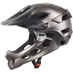 cycling helmet - uvex jakkyl hde - black-dark silver mat | uvex sports