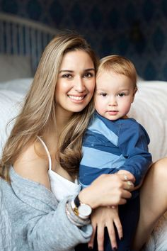 Ingrid Holm blog, mother and son photo
