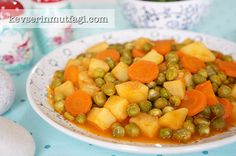Fresh Pea Casserole Recipe Turkish Fashion, Turkish Style, Turkish Recipes, Ethnic Recipes, Tomato Paste, Chana Masala, Casserole Recipes, Salsa, Fresh
