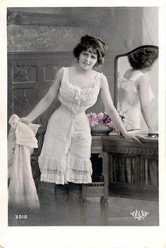 Edwardian undergarments