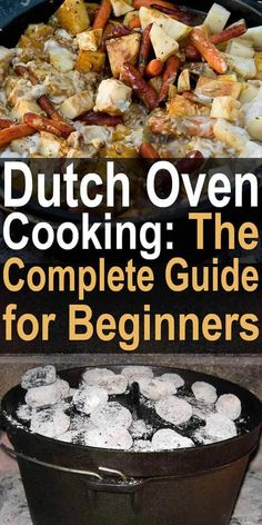 No matter your taste or cooking style, Dutch ovens are a worthy investment. Their incredible versatility and durability make them a practical choice for anyone who wants to cook off-grid, from-scratch meals. Here are some Dutch oven cooking and safety tip Fire Cooking, Oven Cooking, Outdoor Cooking, Healthy Cooking, Cooking Recipes, Cooking Ideas, Healthy Meals, Easy Meals, Cooking Games