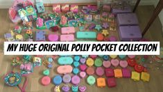 MY HUGE POLLY POCKET COLLECTION