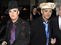 Boy George B4 & After weight loss.