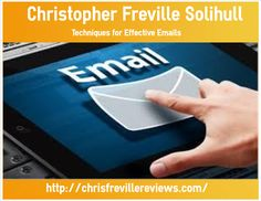 Christopher Freville Solihull - Email is enormously popular ever since the Internet went online! In the beginning, it was mostly used as a tool to keep in contact with people in one's office. However, it rapidly became the number one choice for online marketers. Knowing how to grow an email contact list and how to market to these people online will not only establish your Business, but grow sales exponentially.   http://chrisfrevillereviews.com/