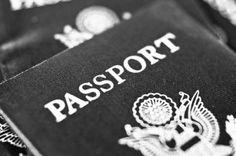 Preparing to travel: Get a passport. #monogramsvacation