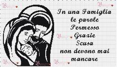 Famiglia punto croce