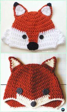 f97d8b4a801 DIY Crochet Beanie Hat Free Patterns Baby Winter Hat