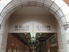 Ingang De Hallen, Passage
