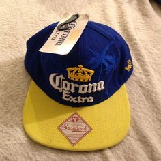 142b1b1a New corona extra snap back hat Brand new never worn Accessories Hats