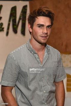 Actor KJ Apa attends H&M Loves Coachella Tent during day 1 of the Coachella Valley Music & Arts Festival (Weekend 1) at the Empire Polo Club on April 14, 2017 in Indio, California.
