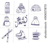isolated, stick, scribble, outline, comic, vector, holiday, igloo, graphic, pen, christmas, drawing, gift, ice, flakes, lined, snowman, snowflake, equipment, doodle, ski, pod, icon, figure, illustration, collection, design, winter, sketch, set, hockey, art, draw, gloves, snow, silhouette, skate, reindeer, hand, sledge, cartoon, sport