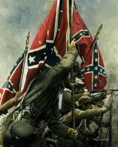 civil war artillery art prints - Bing Images - Visit to grab an amazing super hero shirt now on sale! Confederate States Of America, America Civil War, Confederate Flag, American War, American History, Southern Heritage, Southern Pride, Southern Style, Civil War Art