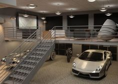 Luxury Garage Ideas With Smart Ideas Decoration Garage For Your Home With Luxury Design; #dreamgarage #automobiles