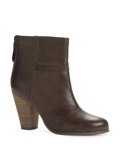 Perfect Heel Height! Leather Panel Cuban Boots