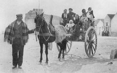 Family with cart - Sicily