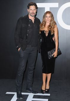 Pin for Later: Stars Turn Tom Ford's Runway Show Into an Event of Epic Proportions Joe Manganiello and Sofia Vergara
