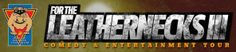 For The Leathernecks III - Comedy and Entertainment Tour -Special guest, actor and comedian, Jay Mohr. Featuring Ronnie Jordan, Rich Aronovitch and music by Lit Jun 27, 2014  |  1330 Showtime  |  Active Duty Only  |  School of Infantry (SOI) Parade Deck. Click the pin for more info!