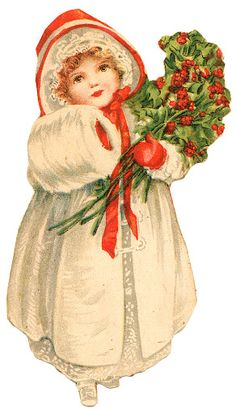 papers.quenalbertini: Vintage Christmas Girl Image | Karácsony – Somogyi Erika – Picasa Nettalbum