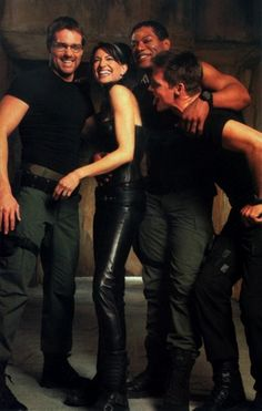Can we take a moment to admire how freaking HOT! Michael Shanks is in this picture?! He only got better with age!