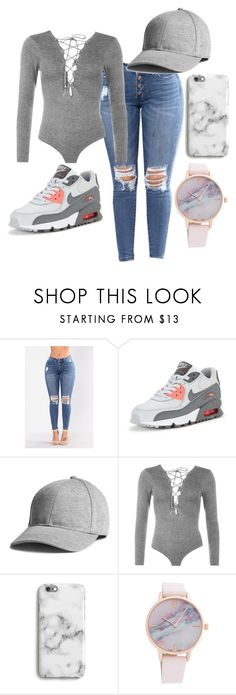 """Untitled #75"" by bxbysnoop ❤ liked on Polyvore featuring NIKE, WearAll and Harper & Blake"