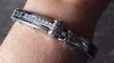 Unisex Stainless Steel Handcuff BDSM Bracelet by MsSilversDesigns, $73.30
