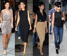 Rihanna Simple Stylish