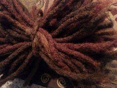 Human Hair Dreadlock Extensions Earthy Autumn Colors (Pack/Bundle of 10 locs)…