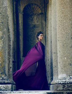 Love Among the Ruins   Zac Posen gown photographed by Lorenzo Bringheli for Town & Country Magazine, October 2013