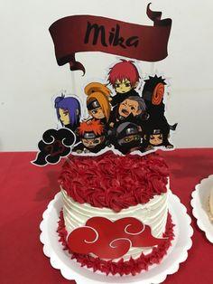 Naruto Sharingan, Naruto Uzumaki Shippuden, Anime Akatsuki, Anime Naruto, Bolo Do Naruto, Naruto Birthday, Naruto Merchandise, Anime Cake, Anime Wallpaper Live