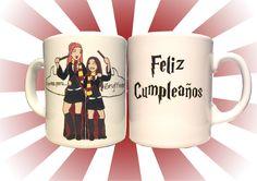 regalo de cumple #personalizado #desayuno #breackfast #mug #regalo #present #gryffindor #harry #potter