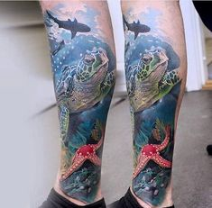 Realistic ocean piece by Jack Galan. More
