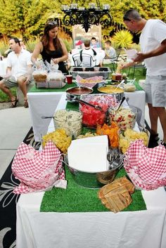 Baseball, Birthday, Sports Birthday Party Ideas | Photo 1 of 16 | Catch My Party