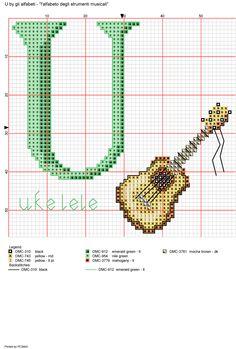 Alfabeto degli strumenti musicali: U