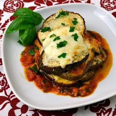 The Foodie Couple: Simple Fresh Eggplant Parmesan