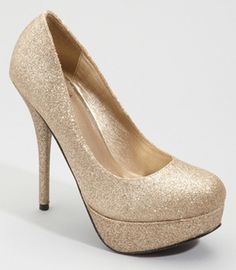 Just like my prom shoes last year, only not as high & minus the peep toe.