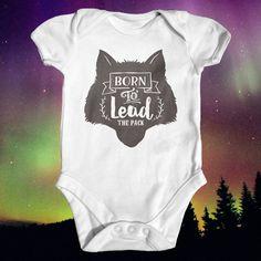 Wolf pack new member baby bodysuit animal baby bodysuit - Baby jungenzimmer ...
