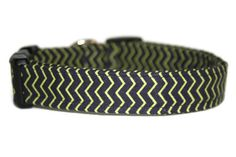 Navy and Lime Chevron Dog Collar by ALeashACollar on Etsy Handmade Dog Collars, Handmade Gifts, Mall, Chevron, Cuff Bracelets, Lime, Trending Outfits, Unique Jewelry, Dogs