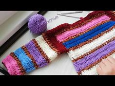 Tutorial-Cum crosetam bluzita copii Theea Colour-How to crochet a blouse - YouTube Fingerless Gloves, Arm Warmers, Crochet Baby, Crochet Projects, Colour, Pullover, Blouse, Youtube, Sweaters