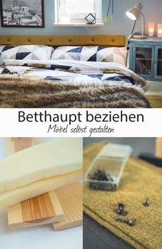 Schon Ich Habe Mein Schlafzimmer Endlich Auf Den Winter Eingestellt Und Eine DIY  Idee Umgesetzt. Das Kopfteil Des Betts Ist Nun Bezogen Und Sieht Einfach ...