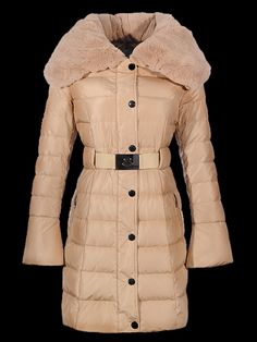 Online shopping women moncler long fur coats apricot in general is known for being convenient.