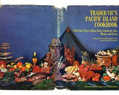 Trader Vic's Pacific Island Cookbook (full cover), Doubleday, 1968